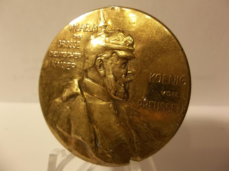 1797 1897 Wilhelm Der Grosse Deutscher Kaiser Medal