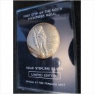 1969, First Step on the Moon Eyewitness Solid Sterling Silver - Franklin Mint