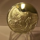 1971 STERLING SILVER FRANKLIN MINT APOLLO 15 ; EYEWITNESS 1 OZ. LIMITED EDITION