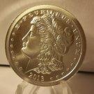 2013 BU Morgan Dollar 1 Troy Oz. Silver