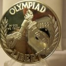 1988-S Olympic Proof Commemorative 90% Silver Dollar US Coin