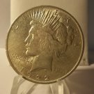 1922 #11   Peace 90%  Silver Dollar