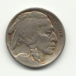 1913 T-2 #2 Buffalo Nickel with Full horn.