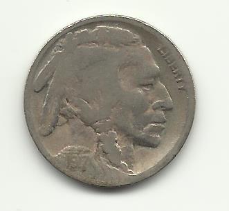 1917-D #5 Buffalo Nickel.