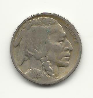 1928 #3 Buffalo Nickel
