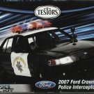 2007 Ford Crown Victoria Police Interceptor - ALL METAL Model Kit