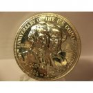 """1964 SILVER ANNIVERSARY """"IN GOD WE TRUST"""" MOTTO PROOF COMMEMORATIVE in Sterling Silver"""