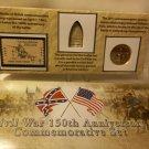 Civil War 150th Anniversary Commemorative Set.