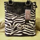 CR Zebra Purse