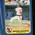 1986 FLEER ANGELS TEAM SET JACKSON CAREW NMMT-MT