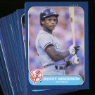 1986 FLEER YANKEES TEAM SET MATTINGLY NMMT-MT