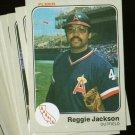 1983 FLEER ANGELS TEAM SET JACKSON CAREW NMMT-MT