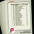 1983 FLEER PHILLIES TEAM SET SCHMIDT CARLTON  NMMT-MT