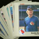 1983 FLEER RANGERS TEAM SET NMMT-MT