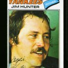 1977 O PEE CHEE #10 JIM HUNTER YANKEES EX OPC