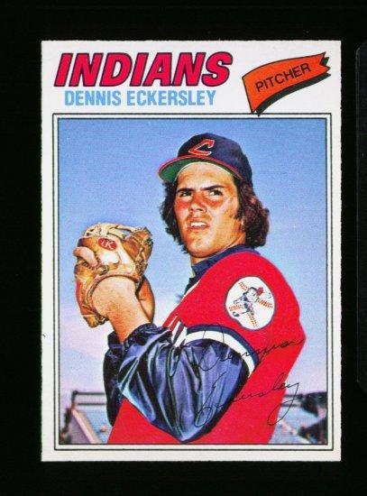 1977 O PEE CHEE #15 DENNIS ECKERSLEY INDIANS NM-MT OPC