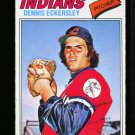 1977 O PEE CHEE #15 DENNIS ECKERSLEY INDIANS NM-MT OPC