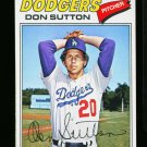 1977 O PEE CHEE #24 DON SUTTON DODGERS NM-MT  OPC