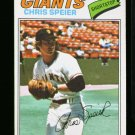 1977 O PEE CHEE #53 CHRIS SPEIER GIANTS NM OPC