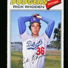 1977 O PEE CHEE #57 RICK RHODEN DODGERS NM-MT OPC