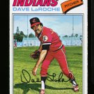 1977 O PEE CHEE #61 DAVE LAROCHE INDIANS NM-MT OPC