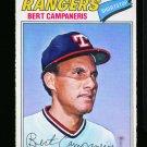 1977 O PEE CHEE #74 BERT CAMPANERIS RANGERS NM-MT OPC