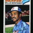 1977 O PEE CHEE #79 WILLIE MONTANEZ BRAVES NM-MT OPC