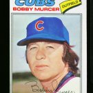 1977 O PEE CHEE #83 BOBBY MURCER CUBS YANKEES VARIATION EX-MT OPC