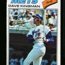 1977 O PEE CHEE #98 DAVE KINGMAN METS NM OPC