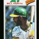 1977 O PEE CHEE #106 BILL NORTH A'S NM-MT OPC