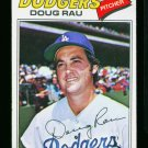 1977 O PEE CHEE #128 DOUG RAU DODGERS NM-MT OPC