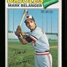 1977 O PEE CHEE #154 MARK BELANGER ORIOLES NM OPC