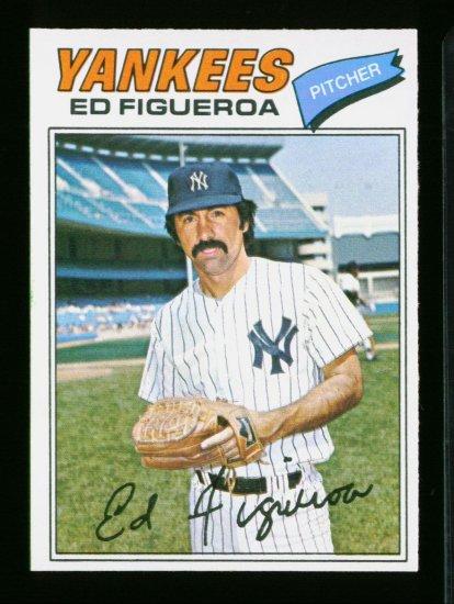 1977 O PEE CHEE #164 ED FIGUEROA YANKEES NM OPC