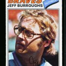 1977 O PEE CHEE  #209 JEFF BURROUGHS BRAVES NM-MT OPC