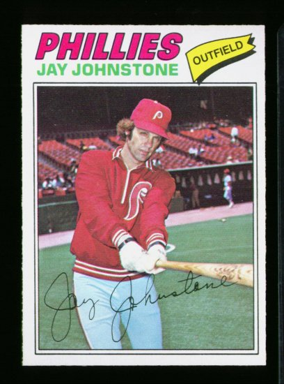1977 O PEE CHEE  #226 JAY JOHNSTONE PHILLIES NM-MT OPC