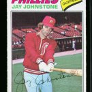 1977 O PEE CHEE  #226 JAY JOHNSTONE PHILLIES NM-MT OPC