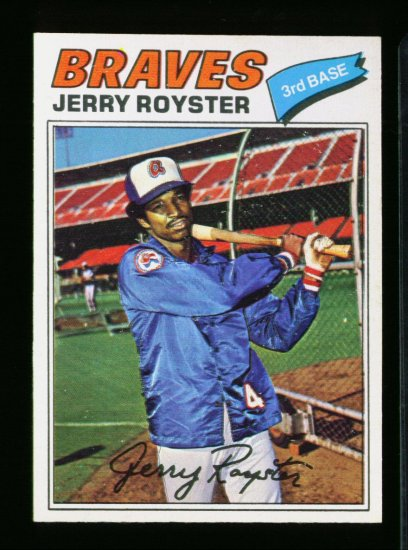 1977 O PEE CHEE  #251 JERRY ROYSTER BRAVES NM-MT OPC