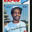 1977 O PEE CHEE  #252 EARL WILLIAMS EXPOS NM OPC