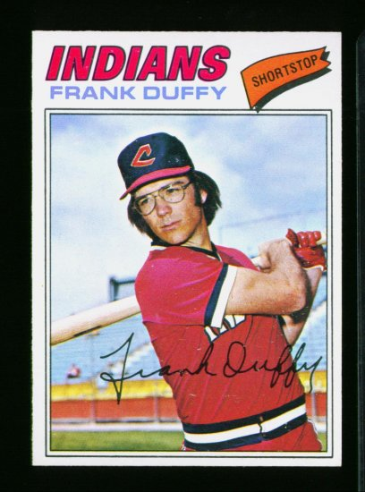 1977 O PEE CHEE   #253 FRANK DUFFY INDIANS NM-MT OPC