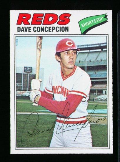 1977 O PEE CHEE #258 DAVE CONCEPCION MINT MT OPC