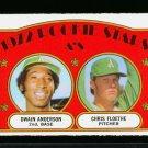 1972 O PEE CHEE #268 A'S ROOKIES ANDERSON PLOETHE NM OPC PACKFRESH