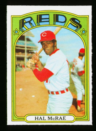 1972 O PEE CHEE #291 HAL MCRAE REDS NM OPC PACKFRESH