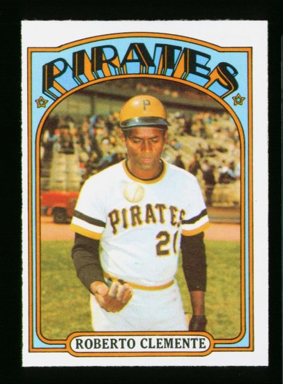1972 O PEE CHEE #309 ROBERTO CLEMENTE PIRATES NM OPC PACKFRESH