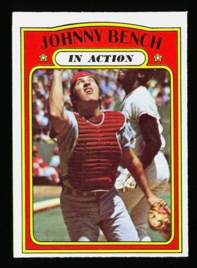 1972 O PEE CHEE #434 JOHNNY BENCH IA REDS NM OPC PACKFRESH