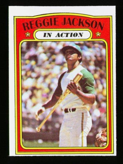 1972 O PEE CHEE #436 REGGIE JACKSON ATHLETICS A'S EX-MT OPC PACKFRESH