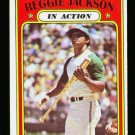 1972 O PEE CHEE #436 REGGIE JACKSON ATHLETICS A'S EX-MT OPC PACKFRESH