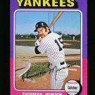 1975 TOPPS MINI #20 THURMAN MUNSON YANKEES NM