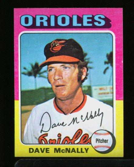 1975 TOPPS MINI #26 DAVE MCNALLY ORIOLES  NM-MT