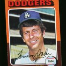 1975 TOPPS MINI #47 TOMMY JOHN DODGERS  NM