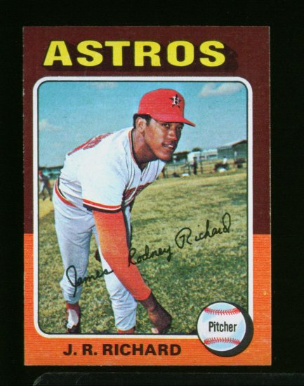 1975 TOPPS MINI #73 JR RICHARD ASTROS  NM